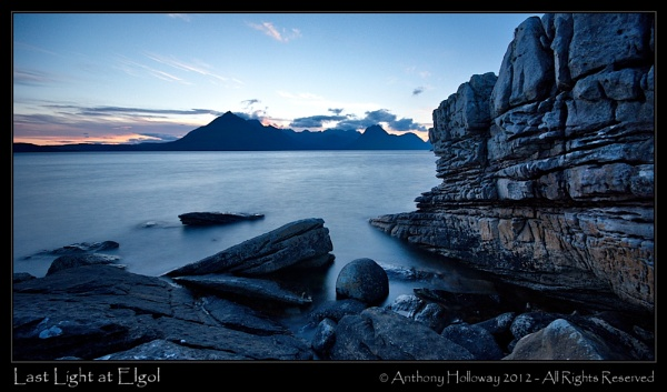 Last Light at Elgol by AntHolloway
