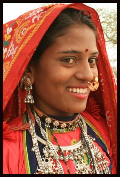 Tribal girl by dsrathore999