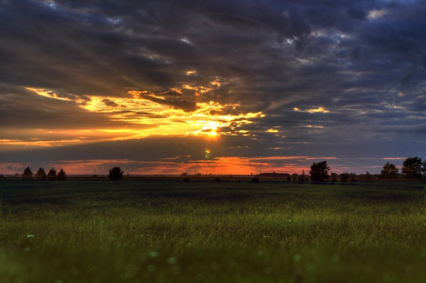 Sunset on the Fens by Ulysses3d