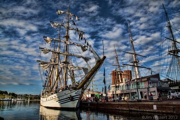 Tall Ship -Dewaruci (Indonesia) Baltimore,Maryland USA by 1Wizzard1