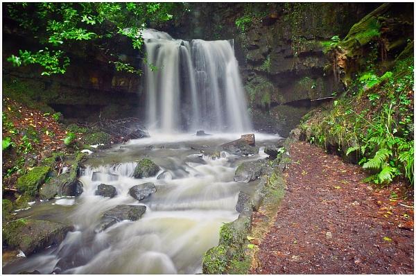 Secret Waterfall by achieverswales