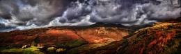 Stormy Skies Over Langdales