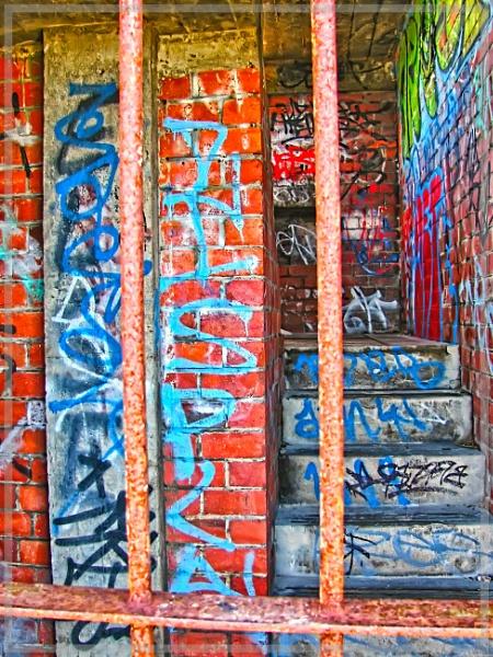 Graffiti Bunker by Jocelia