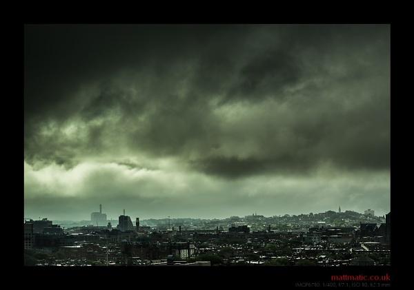 Storm Over Boston by mattmatic