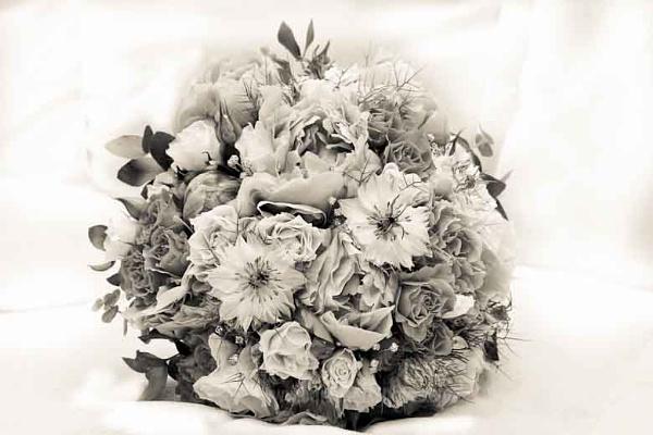 High key bouquet by CarolAnnPhotos