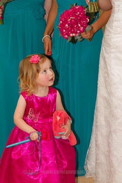 The smallest bridesmaid by CarolAnnPhotos