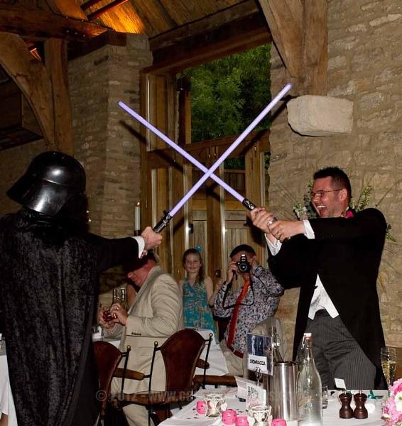 A Star Wars themed wedding... by CarolAnnPhotos