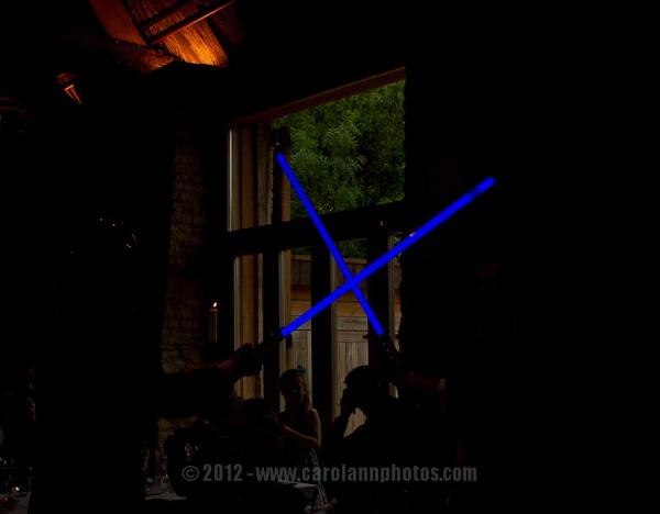 (Light) Sabre dance by CarolAnnPhotos