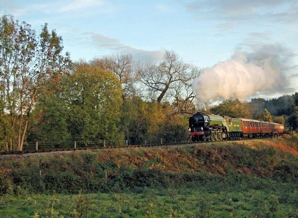 Steaming through Hay Bridge by SimonLathlane