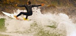 St Ives surfer