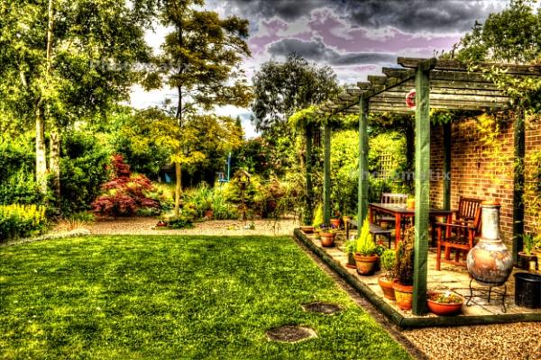 Garden - Photomatix by siduck68
