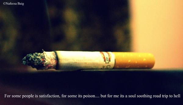 Smoke it up!! by NafeesaBaig
