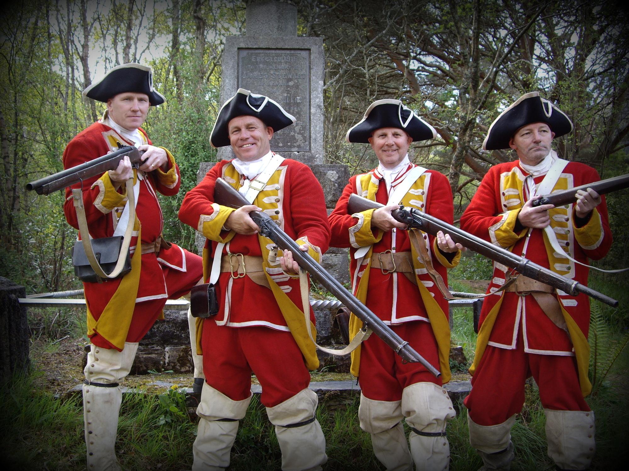 Scottish Red Coats