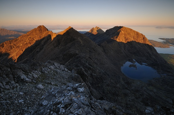 South Cuillin Ridge by JohnParminter