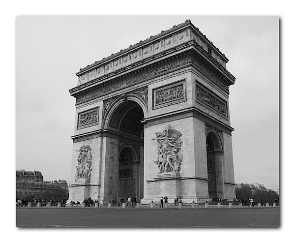 Arc de Triomphe by heffalump