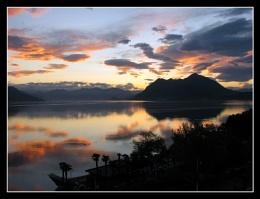 Sunrise over Lake Maggiore