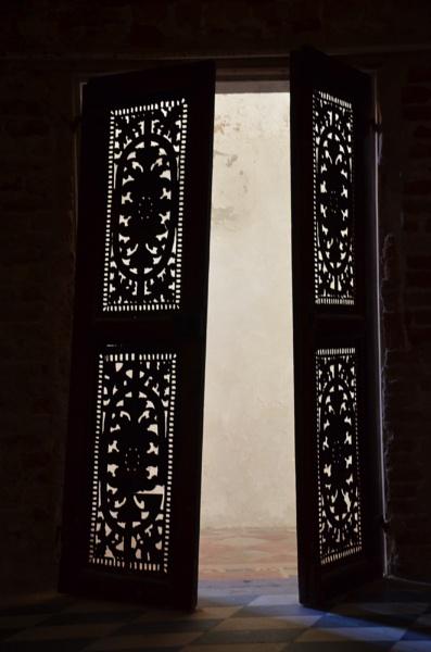 Doors of San Clemente Chapel, Venice by hippysnapper