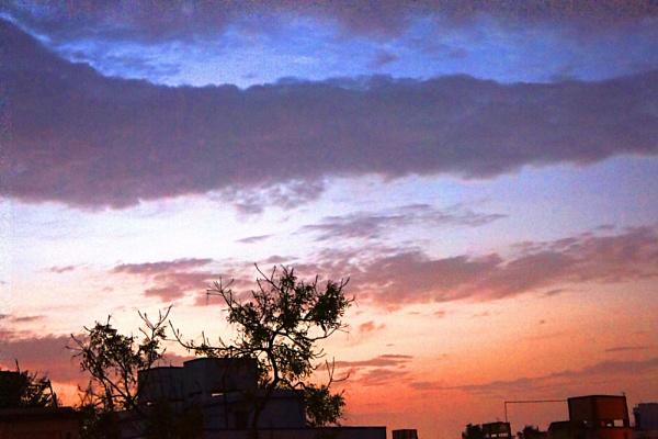 EVENING SKY by amitav