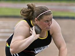 Womens Shot Put Event -Bedford International Games-Sophie McKenna