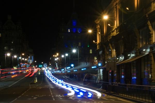 Ambulance Light Trail by ahern
