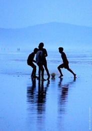Beach footbal