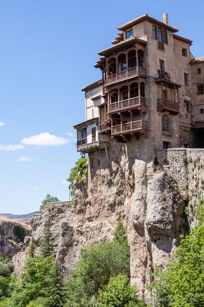 Hanging Houses, Cuenca, Spain by HBJ