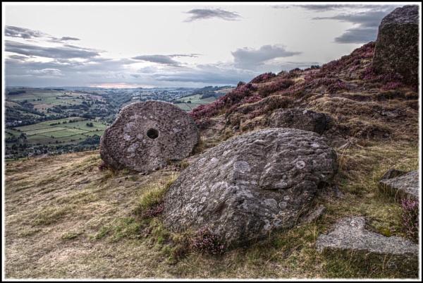 Curbars Grinding Stone by danieltrude
