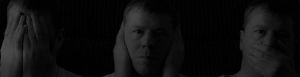 See No, Hear No, Speak No by photohog69