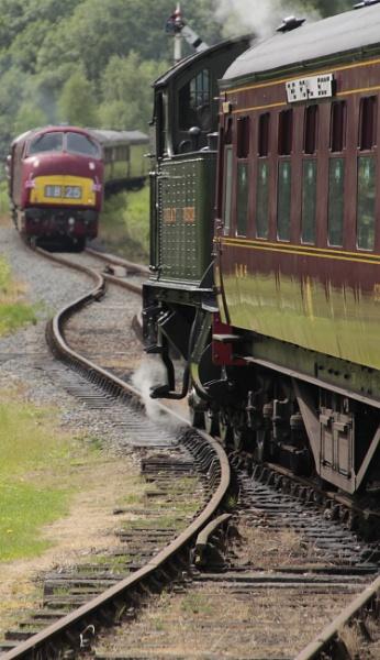 Severn Valley Railway 1940s weekend. by Adrianwalker