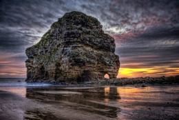 Marsden Rock.