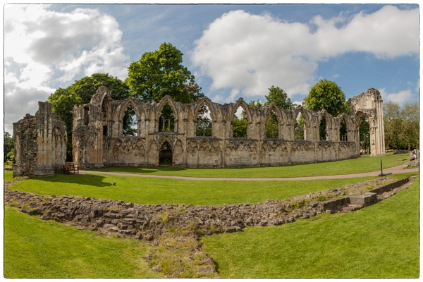 St Mary\'s Abbey ruins in York by allan47