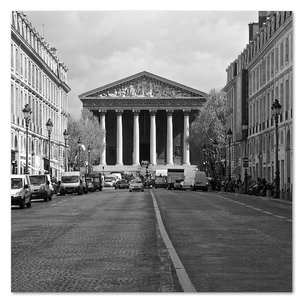 La Madeleine, Paris by heffalump