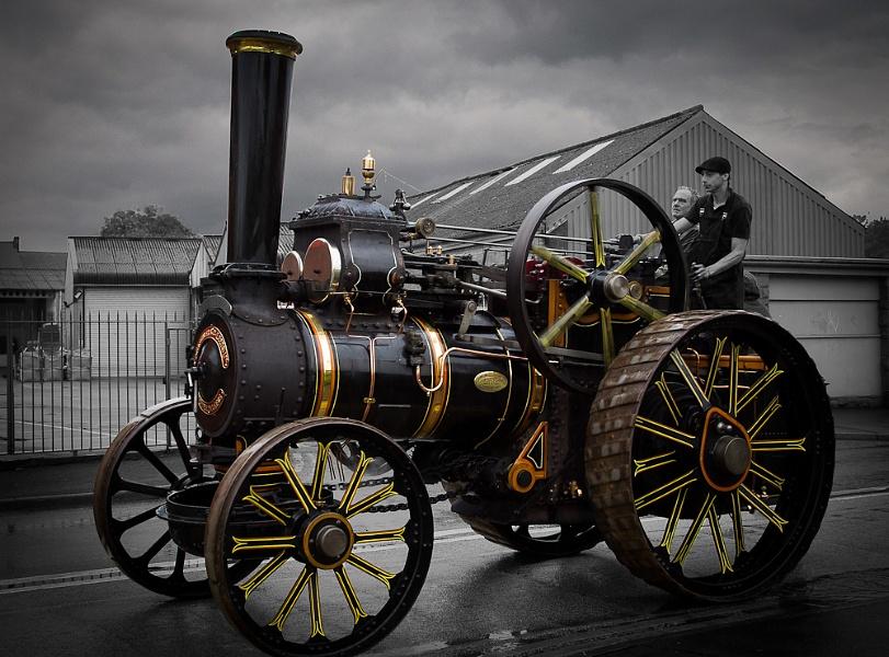 Old Steamer No. 9225