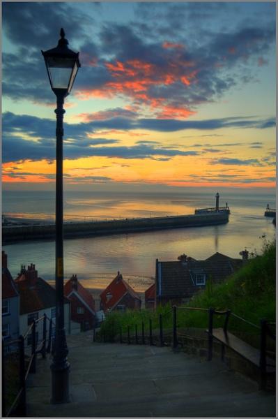 199 Steps Sunset II by stephenscott