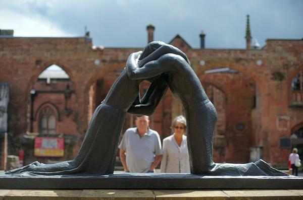 Reconciliation sculpture by dudler