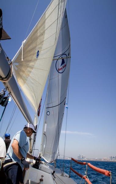sailing tel-aviv by sigalpetersen