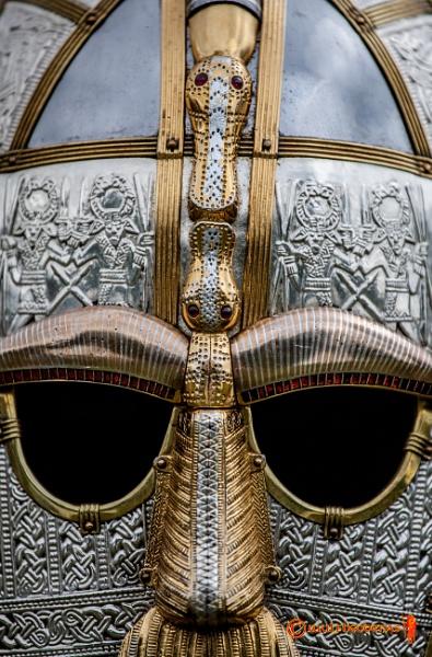 Sutton Hoo Helmet by waylandtb