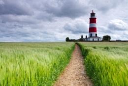 Happisburgh Lighthouse, Norfolk.