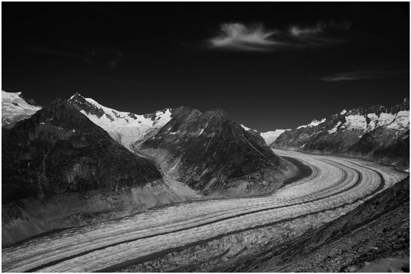 Aletschgletscher by PhilSingleton