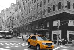 Taxi Bloomingdales New York