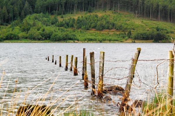 Reservoir, mid wales by m60mrj