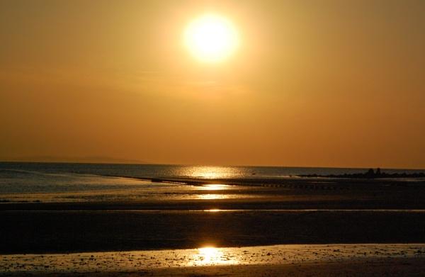 Sunset on Llandudno north beach by m60mrj
