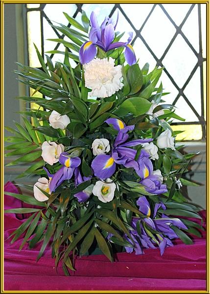 Church flower show by jwt