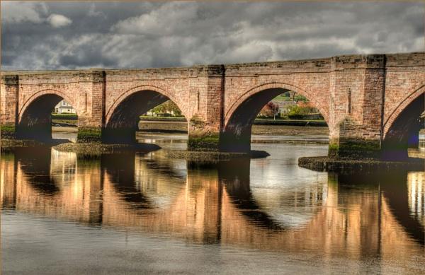 Bridge at Berwick on Tweed by myrab