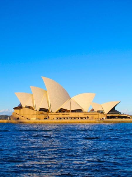 Colourful Sydney Opera House by StephenBrighton
