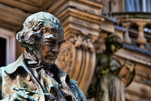 James Watt Statue by YoBellzaa