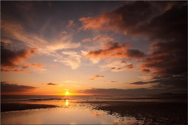 Bamburgh Sunrise by BigCol
