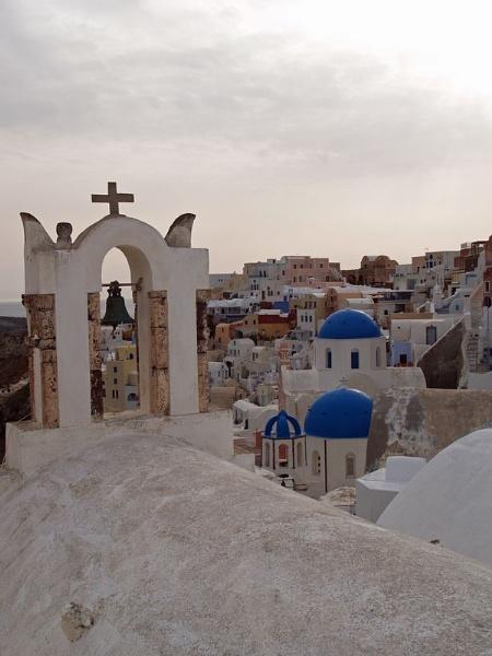 Santorini Chapels by gossyboy