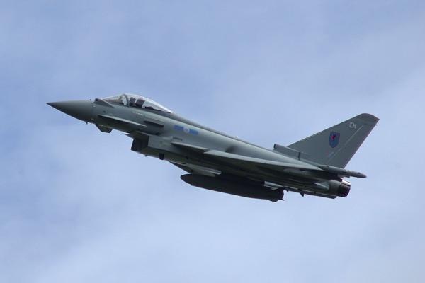 Typhoon at Farnborough 2012 by Beanie76