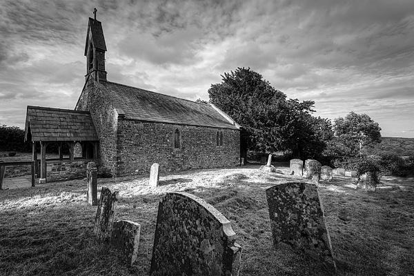 Pentery Church B&W by lobsterboy